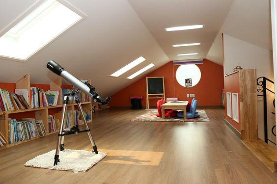 dachgeschoss ausgebaut teleskop v 564