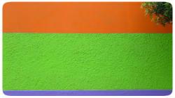 farbe auf wand