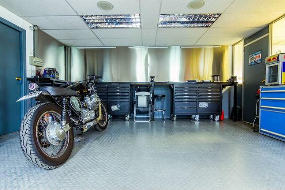 garage motorrad sauber zt 564