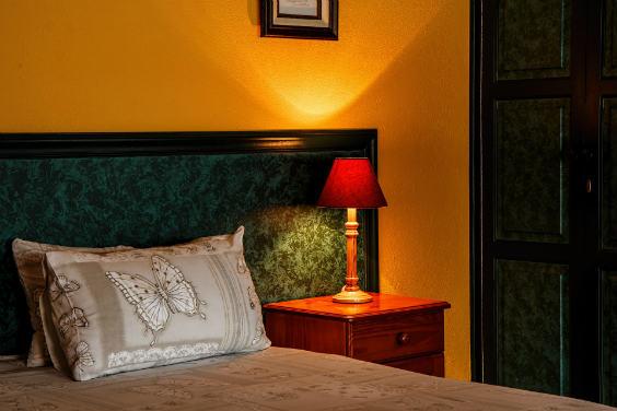 schlafzimmer orange 564