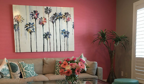 wie sie ihre wand 39 wie vom maler 39 streichen auch mit. Black Bedroom Furniture Sets. Home Design Ideas