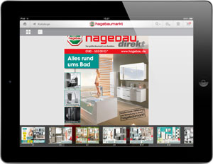 vom sofa aus im baumarkt shoppen die neue hagebau shop app f r ipad. Black Bedroom Furniture Sets. Home Design Ideas