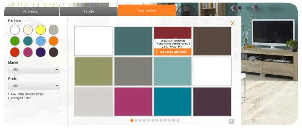 ideen f r die wandgestaltung finden obi raumplaner inspiriert. Black Bedroom Furniture Sets. Home Design Ideas