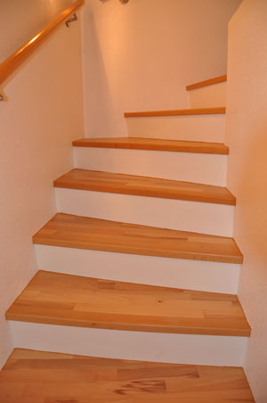 Treppe mit holz belegen - Betontreppe kaufen ...