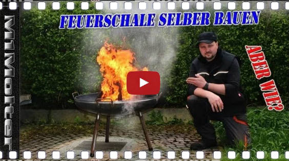 video anleitung feuerschale selber bauen. Black Bedroom Furniture Sets. Home Design Ideas