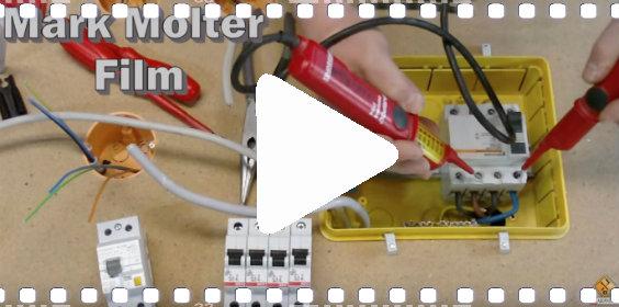 video installation unterverteiler
