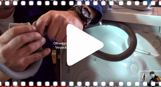 video waschmaschine anschliessen uj 564