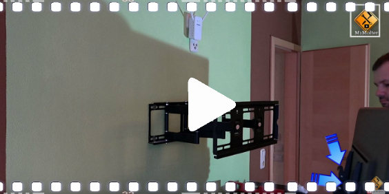 video fernseher wand haengen