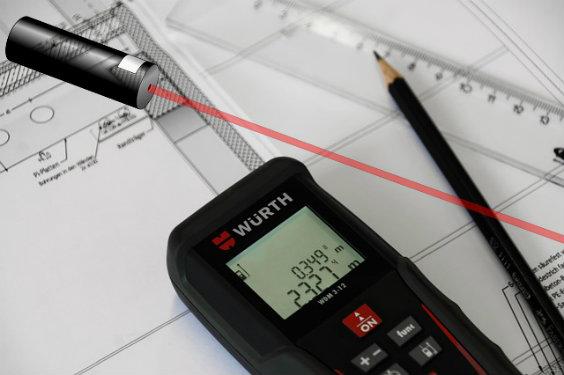 Laser Entfernungsmesser Mit Stativ : Wie funktioniert ein baulaser?