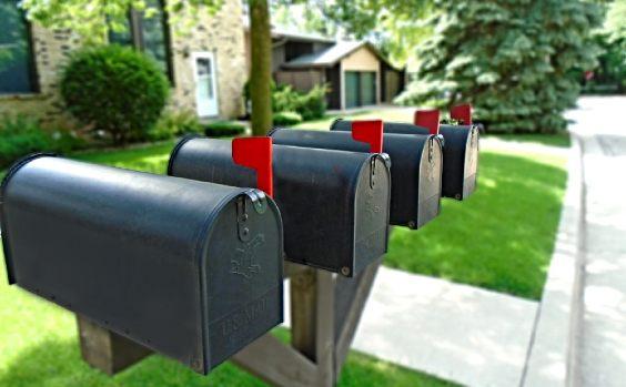 Briefkasten Reihe