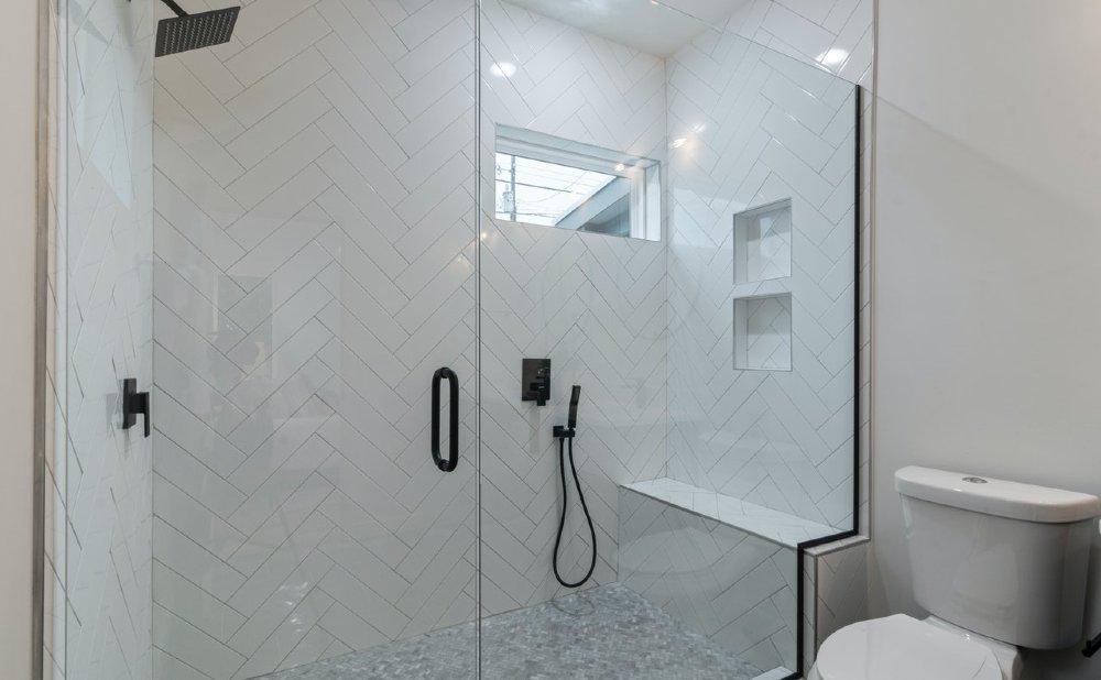 dusche glaswand breit 1000