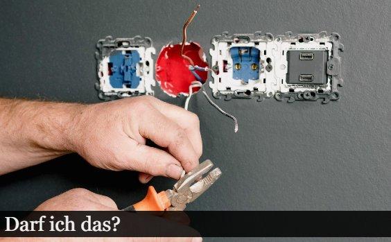 Haus sanieren u2013 Elektrik selbst machen?