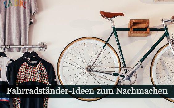 Fahrradstu00e4nder selber bauen