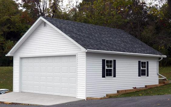 garage gross weiss 2k 564