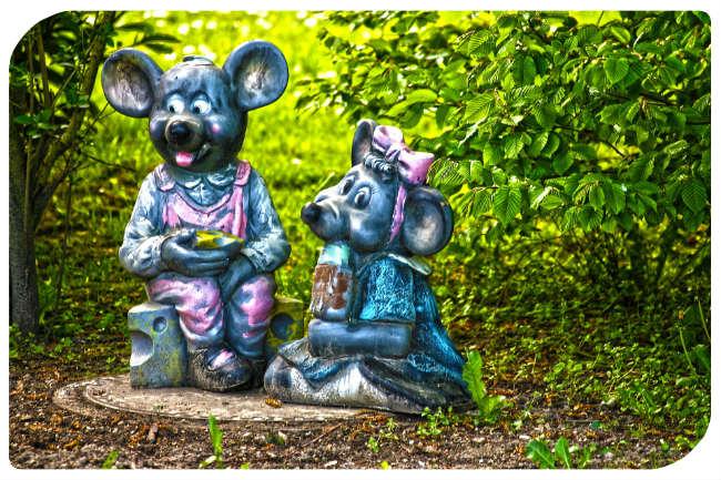Maus und Mäuserich