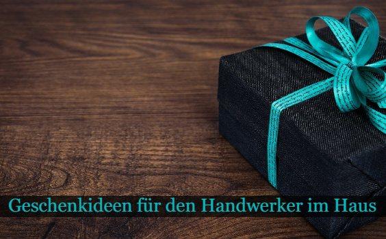 Geschenk Holztisch Heimwerker