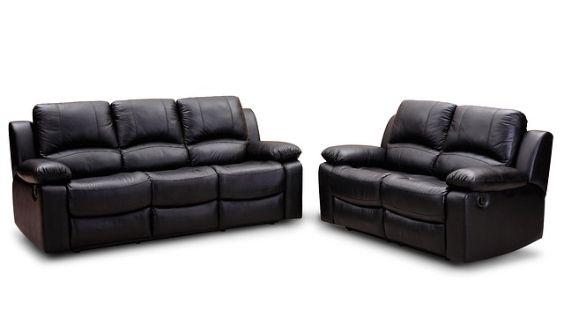 leder sofa zweier dreier 564