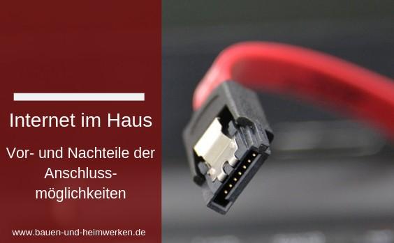 neubau internetanschluss kabel