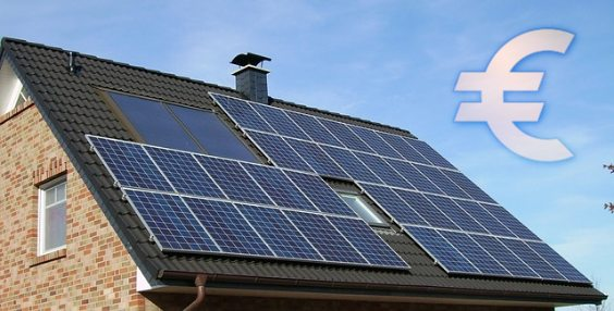 photovoltaik dach euro