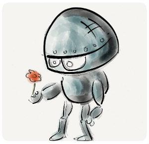 roboter blume 300