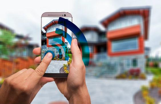 smart home mobile finger ja 564