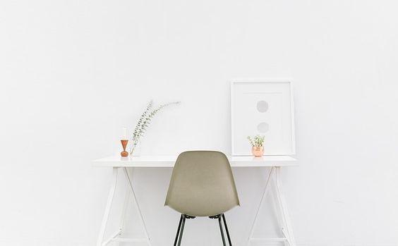 stuhl desk white pu 564