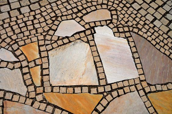 terrasse steine 564