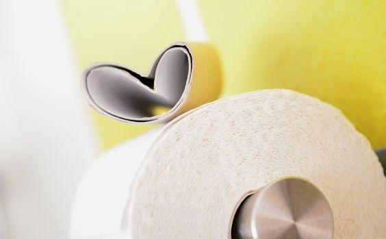 toilettenrolle gelb herz 564