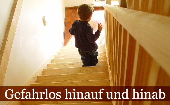 Treppe sicher machen