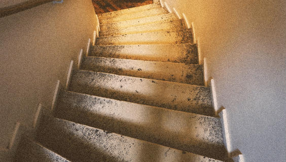 treppe stufen rund 564