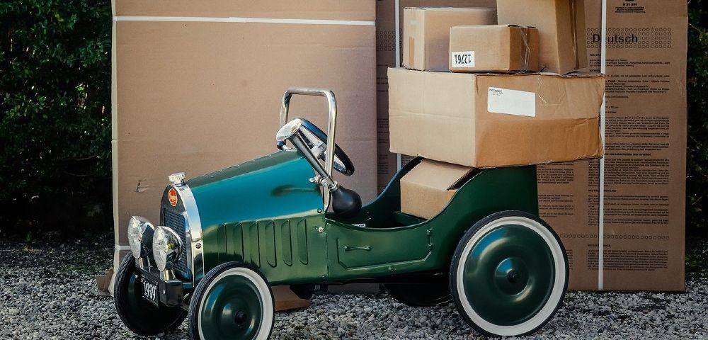umzug auto kartons gruen 1000