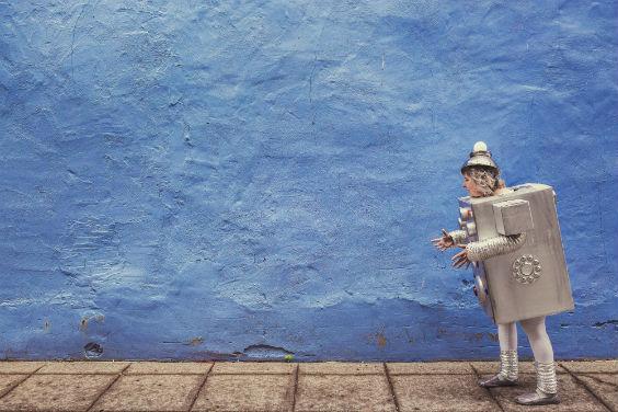 wand blau maennchen 564