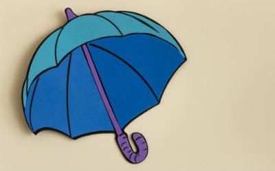 wandtattoo regenschirm 400