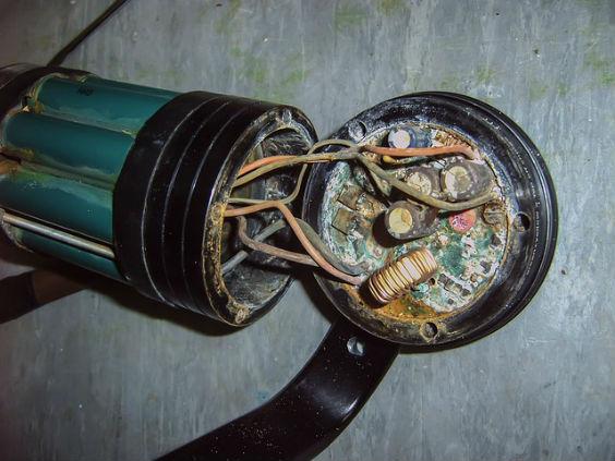 wasserschaden elektrik rohr ie 564
