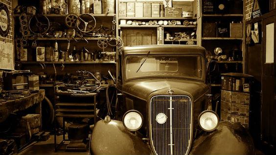 werkstatt auto alt 564