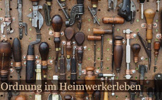 Werkzeugwand antik