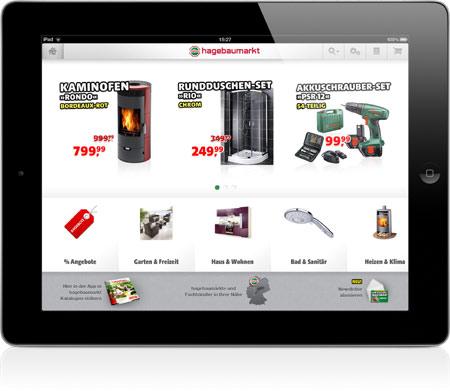 Vom Sofa Aus Im Baumarkt Shoppen Die Neue Hagebau Shop App Fur Ipad