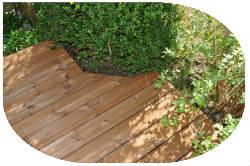 Holzterasse verlegen - Ihre Anleitung
