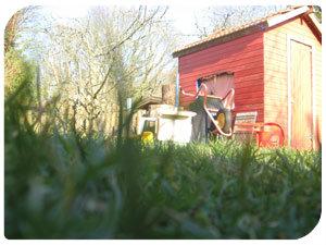 So kannst du dein Gartenhaus selber machen