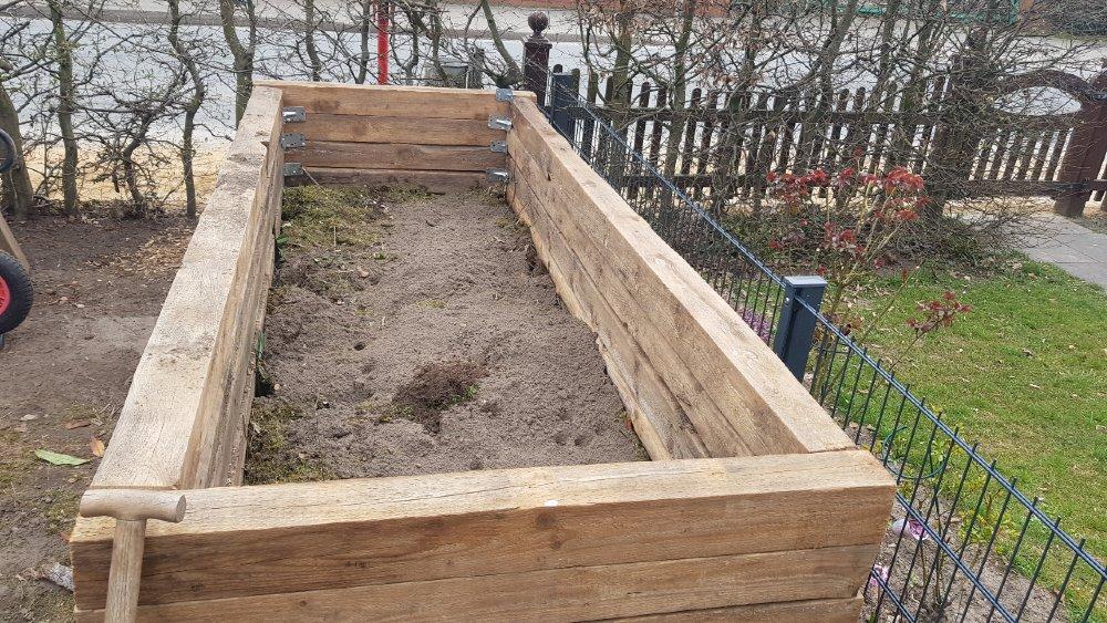 hochbeet gras kompost schicht 1000
