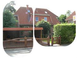 Ein typisches Doppelhaus