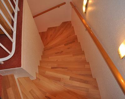 treppe mit holz belegen. Black Bedroom Furniture Sets. Home Design Ideas
