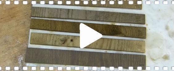 Video: Wie Sie Holz wie ein Fachmann selber beizen oder färben