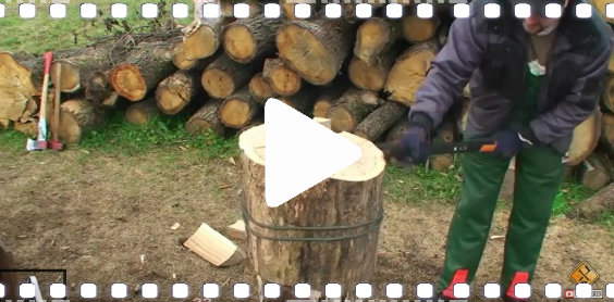video holz hacken lw 564